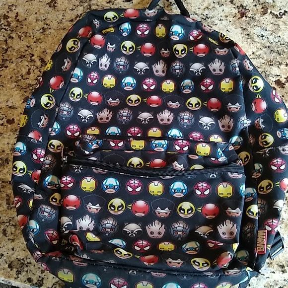 acd01eda33 Marvel Superhero Emoji Backpack. M 5b79bc59baebf60b99577a15. Other  Accessories ...